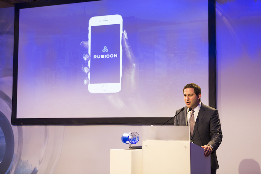Rubicon being honored at Davos