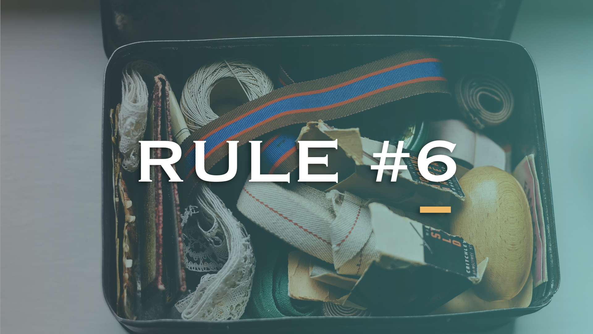 Rule #6 of Recycling