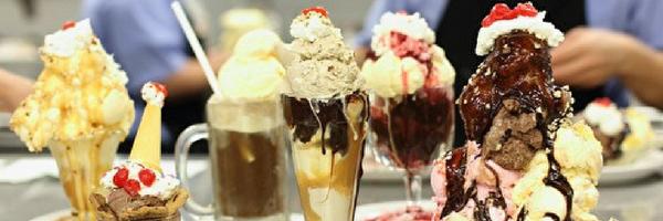 ice cream and desserts