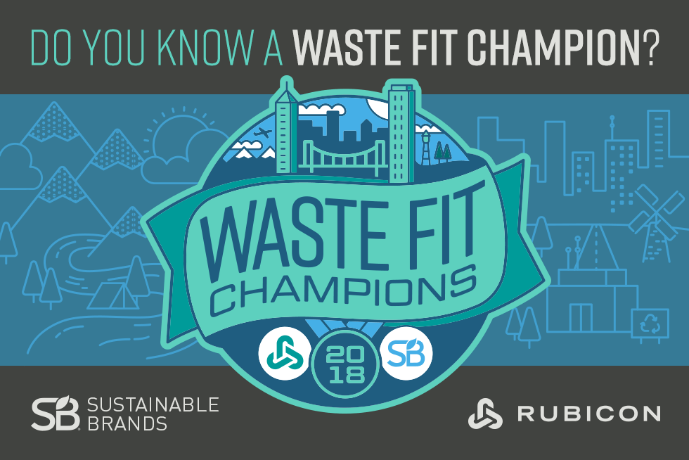 Rubicon Waste Fit Sustainability Champion