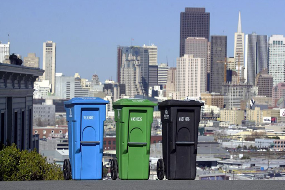 Compost in San Fran