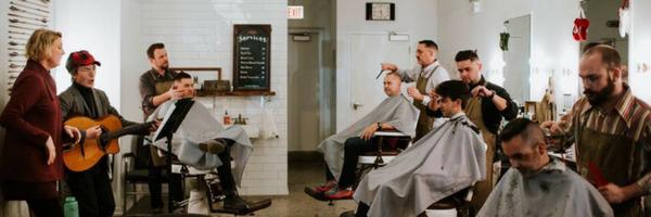 barbershop haircuts