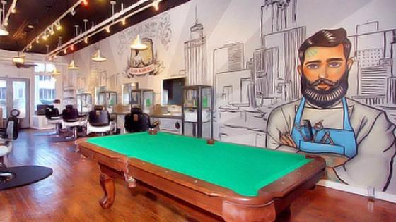 Inside the Shave Barbershop in Atlanta, GA