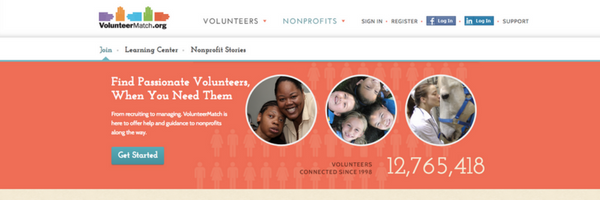 Find Passionate Volunteers, When You Need Them