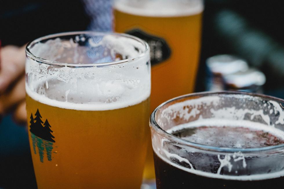 food waste beer