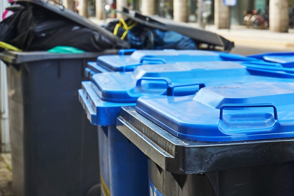 bins for waste