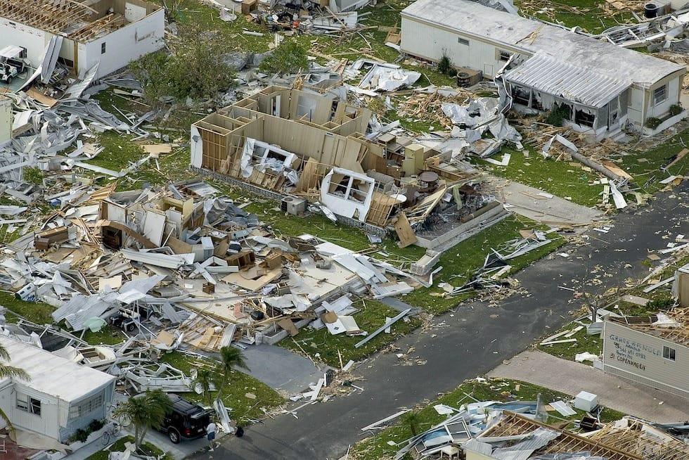 recycling natural disaster