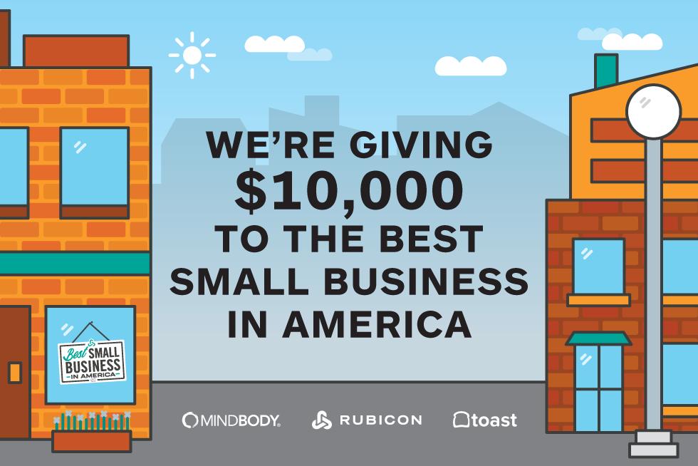 Rubicon Best Small Business in America Contest 2018