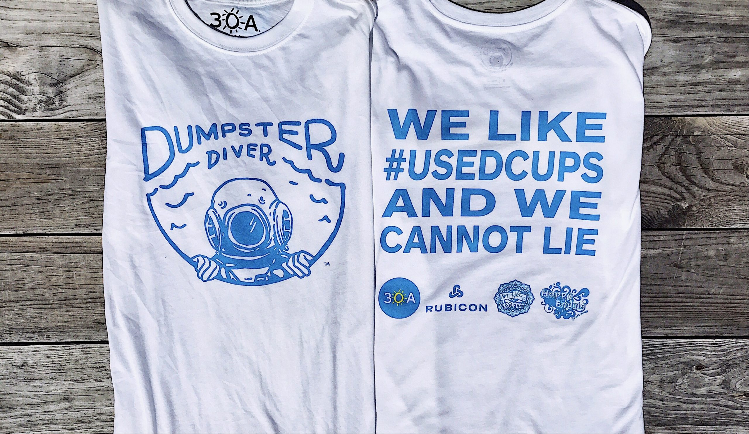 Special-Edition 30A Dumpster Diver Shirt for SweetWater 420 Fest
