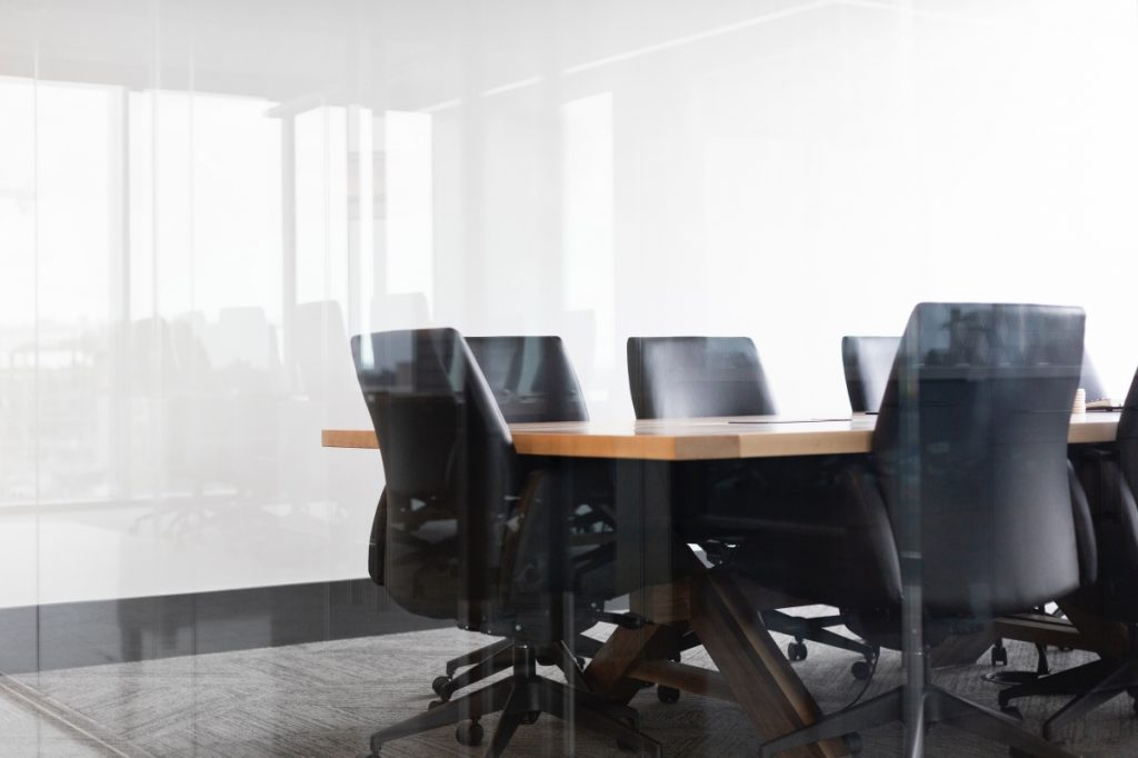 chairs in office room